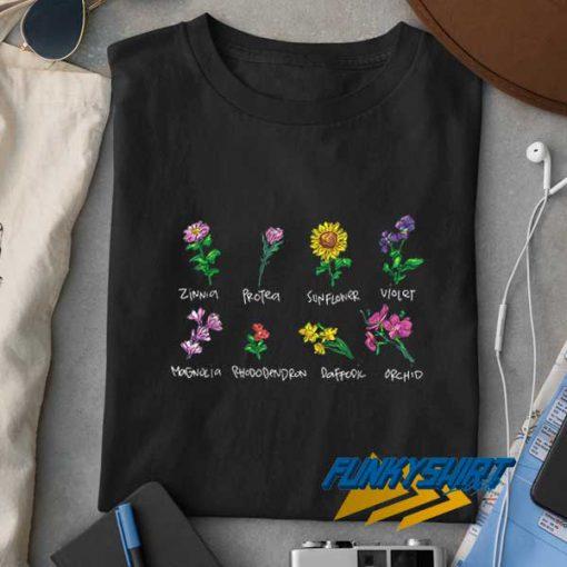 Vintage Flower Botanical t shirt
