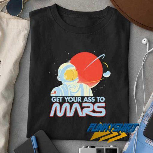 Vintage Get Your Ass to Mars t shirt