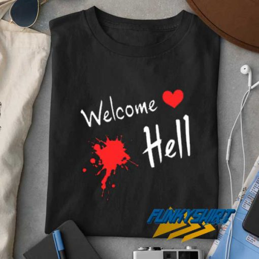 Welcome Hell Touhou t shirt
